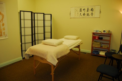 Longmont Acupuncture Treatment Room